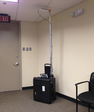 Wireless-site-survey-rig: Case by AccessAgility