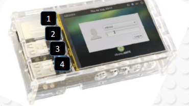 odroid-with-lcd-clear-case
